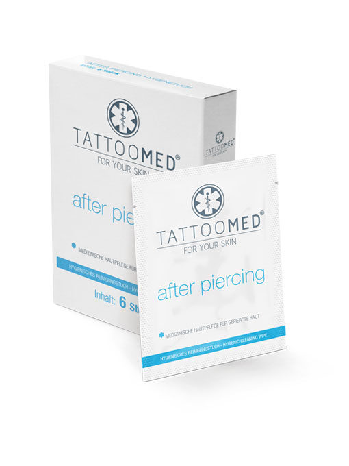 TattooMed® After Piercing Hygienetuch Box
